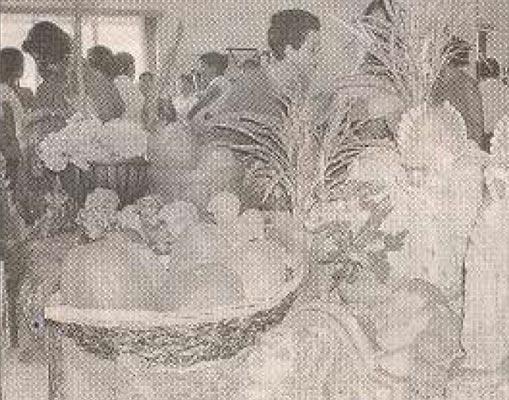Bazar benéfico en Carazo
